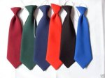 SATIN TIES ASSORTED - ELASTIC