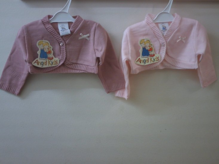 BABY BOLERO CARDIGAN- 1301 / MC516 - Click Image to Close