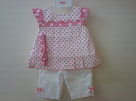 BABY 2 PCS DRESS SET-7502