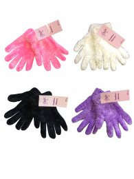 GIRLS MAGIC FEATHER GLOVES