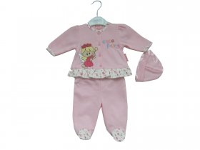 GIRLS FRENCH TERRY SET - 3569