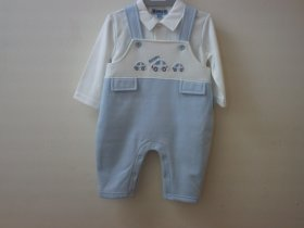 BABY 2 PCS DUNGAREE SET-7444