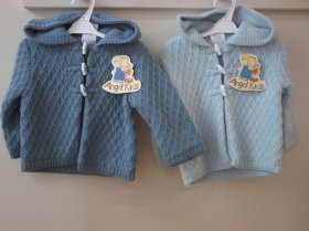 BABY BOYS HEAVY CARDIGAN -1302 / MC517