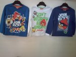 BOYS{L/S TOP} ANGRY BIRD}