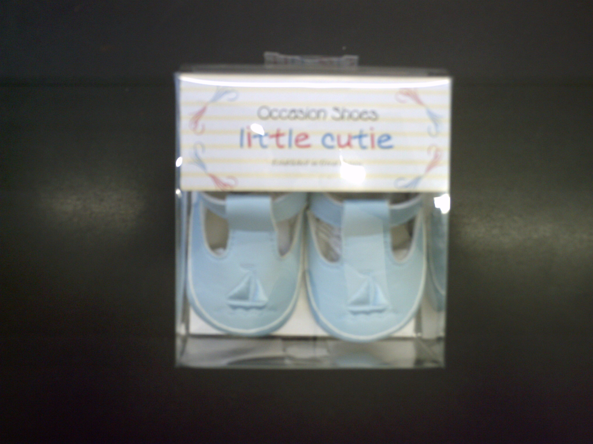 BABY SHOES-9408 LIGHT BLUE
