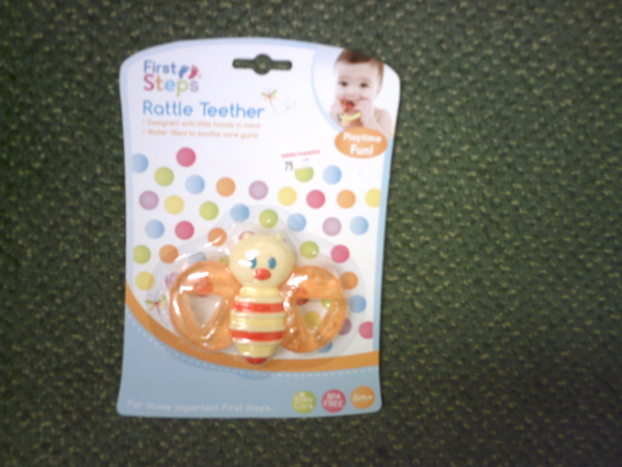 RATTLE TEETHER-PS 198