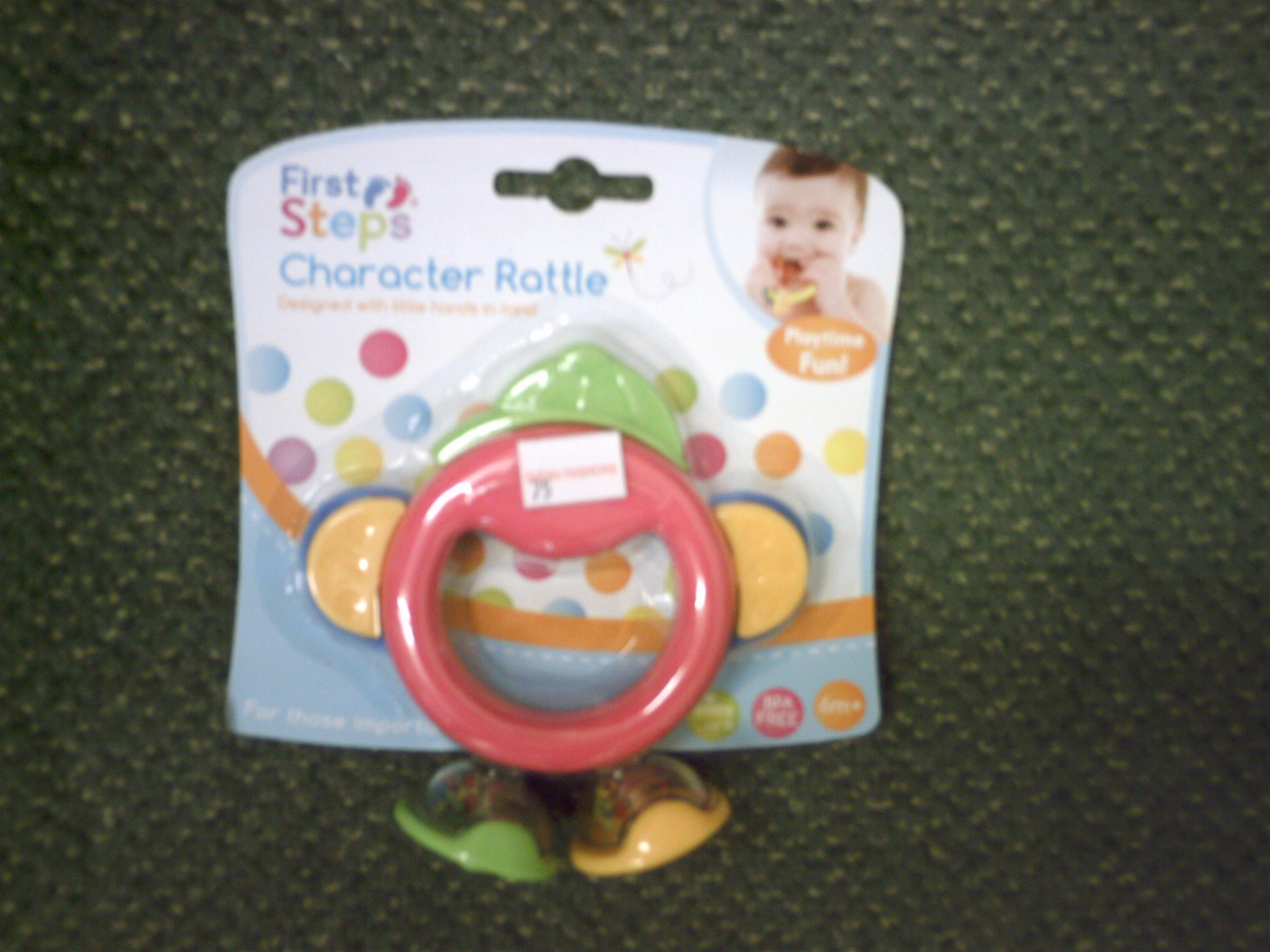 CHARACTER TEETHER-PS 214