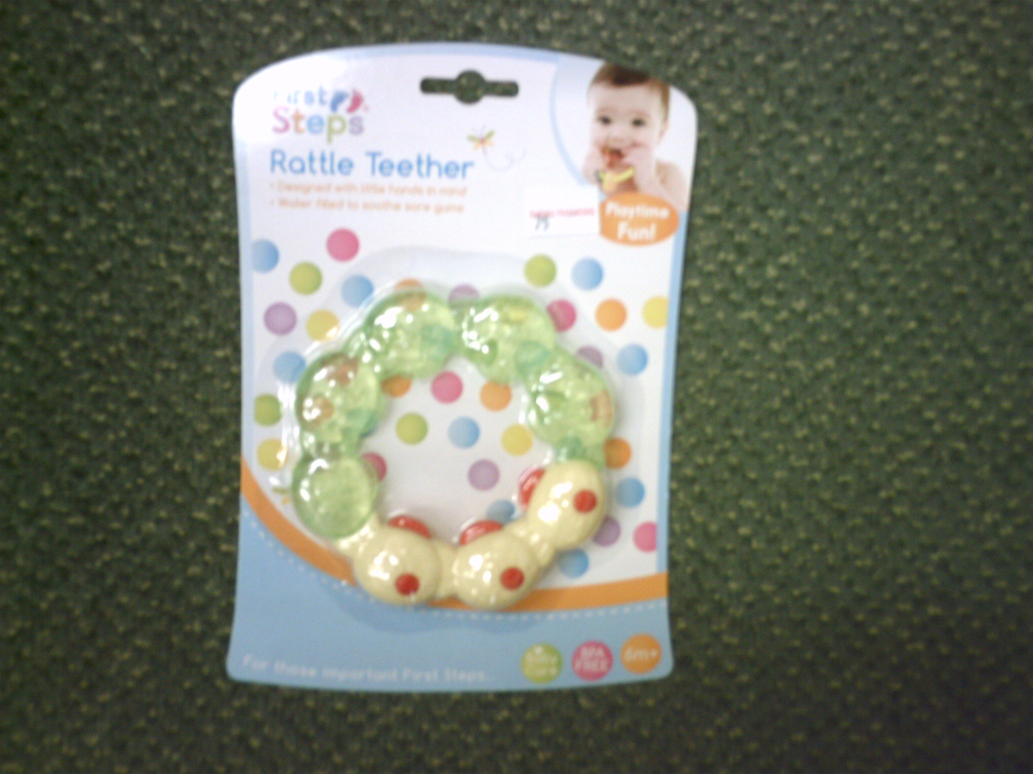 RATTLE TEETHER-PS 354