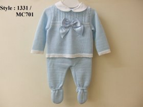 BABY BOYS PERLE LONG SLEEVE TOP / LONG TROUSER - style 1331