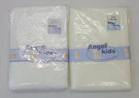 ANGEL KIDS HEART ACRYLIC BABY SHAWL
